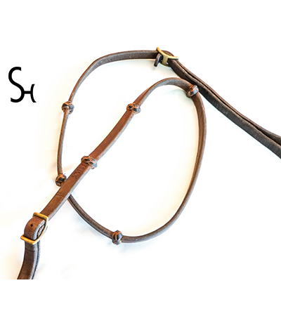 SH Pro Series Knotted Single Reins