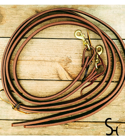 """SH Pro Series 3/4"""" Oiled Reins"""