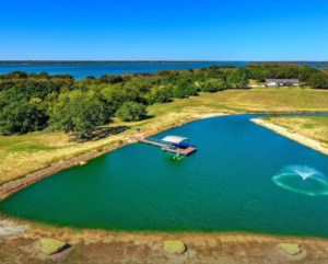 Pilot Point Property w Stocked Pond For Sale