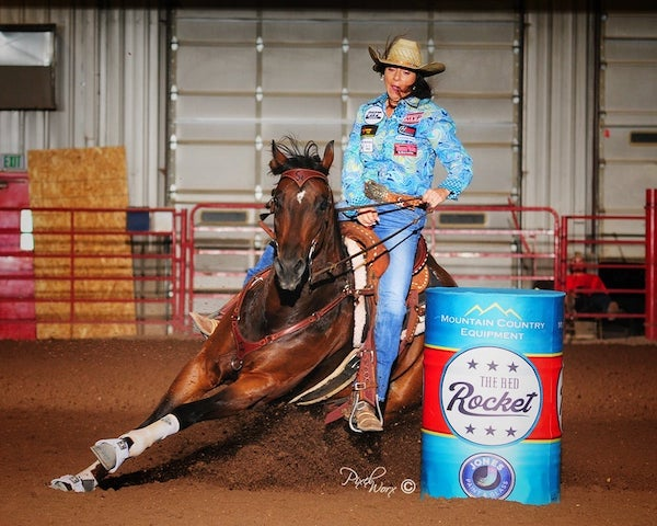 The Red Rocket Futurity and Open 5D Swept by Sharin Hall and Hello Stella July 2021